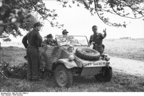 Normandie 1944 - Bundesarchiv
