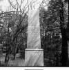 Pomník na památku 2/Lt R. I. Jonese, stav z května 1983