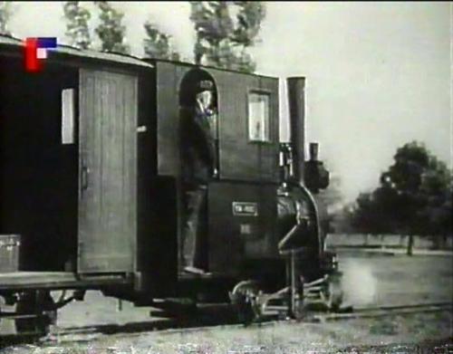 Lokomotiva uzkokolejky v Bzenci