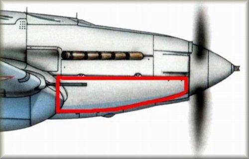 Kryt motoru Il-2