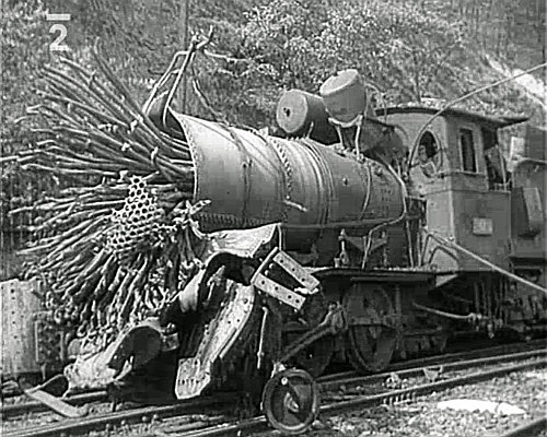 Kralupy nad Vltavou lokomotiva 414.054