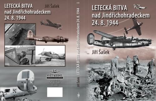 Letecká bitva nad Jindřichohradeckem 24. 8. 1944 obálka