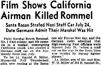 Lt. Miller Rommel