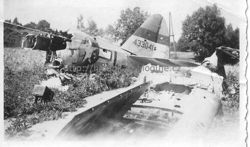 P-47 u Pelhřimova