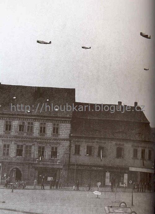 P-47 Klatovy 8. května 1945
