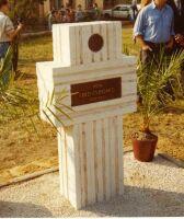 Pomník 2/Lt Clifgarda v Pouzdřanech