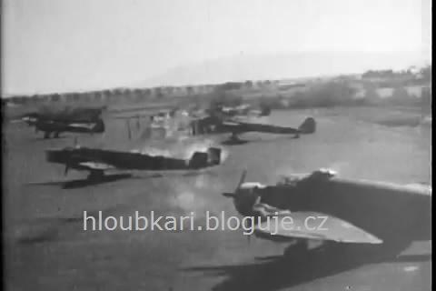 Útok na letiště nízko nad zemí