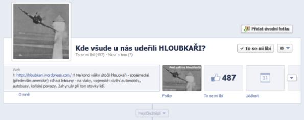 Facebook Hloubkaři